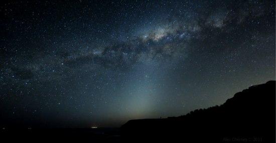 息を飲むほどキレイな星空の動画 in Australia