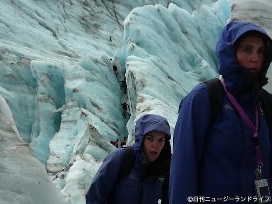Franz Josefツアー後編:肌で感じる氷河は最高!
