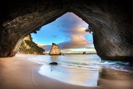 投票途中経過:NZで一番のビーチはどこ?暫定一位は…