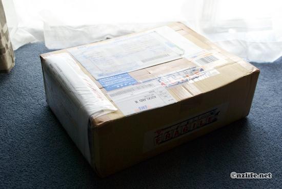 """レビュー:海外転送サービス""""海外発送.net""""を使ってみた"""