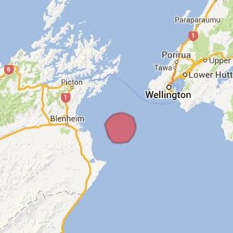 ニュージーランドの中心でM6.5の地震発生 大きな被害は無し