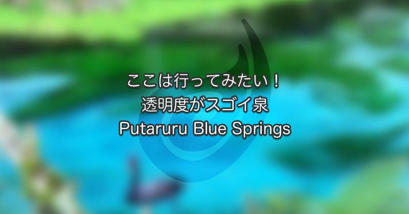 ここは行ってみたい!透明度がスゴイ泉Putaruru Blue Springs