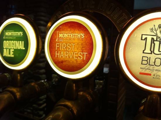 Monteith'sのFirst Harvestを飲んできた
