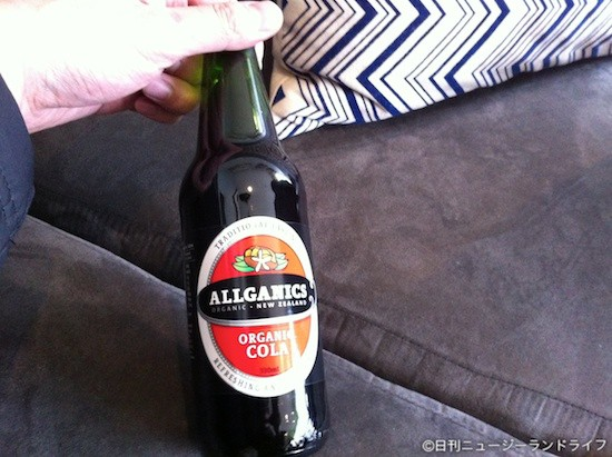 オーガニックコーラ「Allganics」を飲んでみた