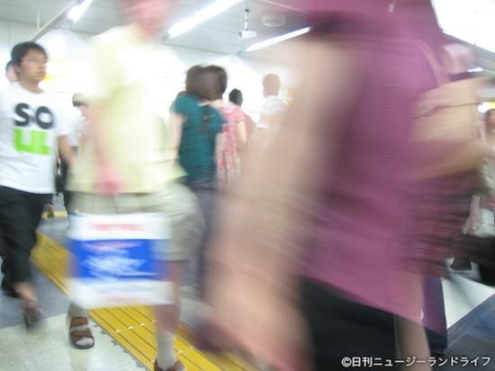一目でわかる日本とNZの人口密集の違い