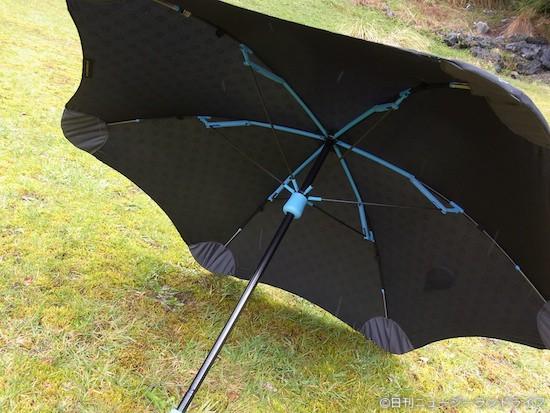 NZ発!おちょこにならない傘「BLUNT mini」を買った
