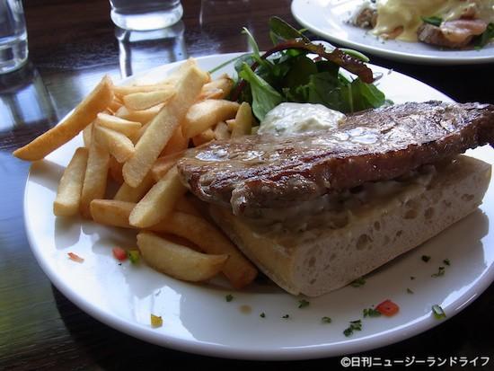ハンマーでフレンチ。Chantellinis Restaurant