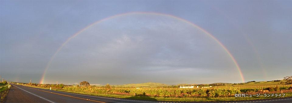 [動画有り] 二重の虹に向かってドライブ
