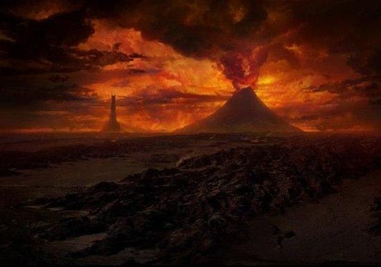 ロード・オブ・ザ・リングにも登場したRuapehu山が噴火直前