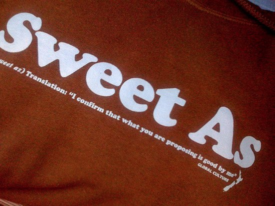 Kiwiスラング 002 「Good as Gold」「Sweet As」