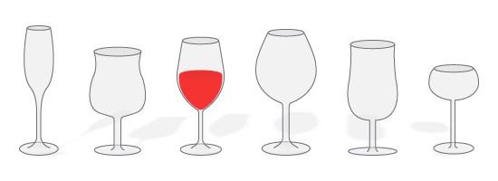 ワイングラスの選び方(2):7つの選ぶポイント